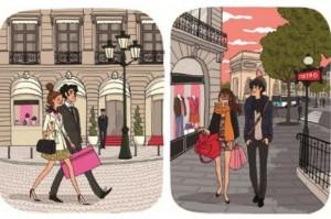 shopping paris 300x199 Mon plan shopping